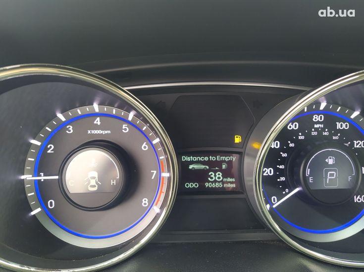 Hyundai Sonata 2011 черный - фото 5