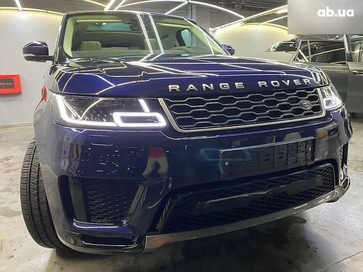 Land Rover Range Rover Sport 2020 синий - фото 12