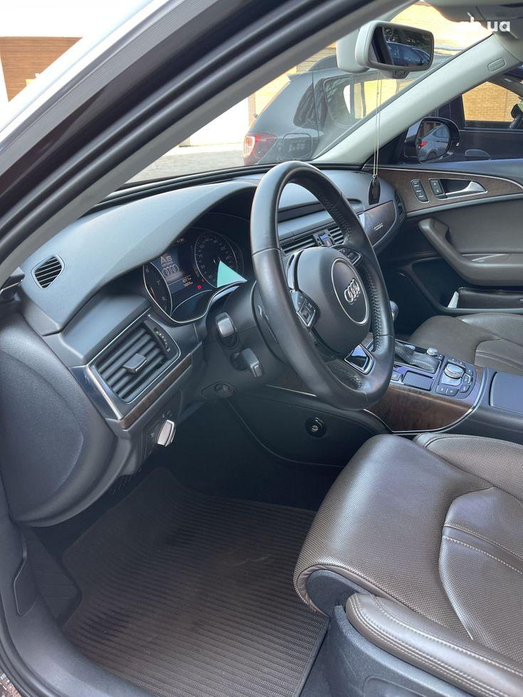 Audi a6 allroad 2013 коричневый - фото 14