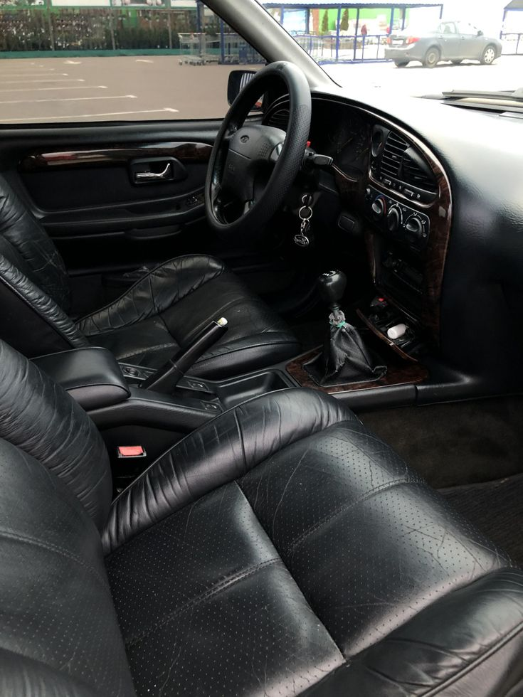 Ford Scorpio 1995 фиолетовый - фото 3