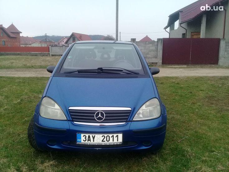 Mercedes-Benz A-Класс 2000 синий - фото 2