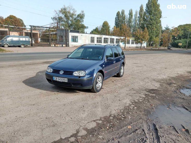 Volkswagen Golf 2000 синий - фото 3