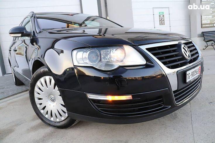 Volkswagen passat b6 2008 черный - фото 20