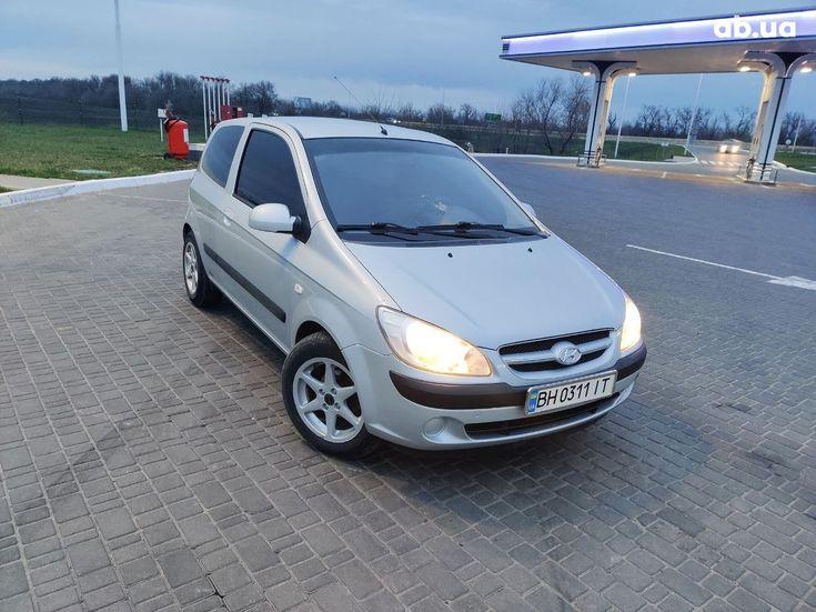 Hyundai Getz 2005 серый - фото 1