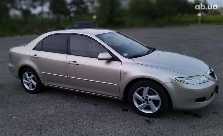 Mazda 6 2003 золотистый - фото 3