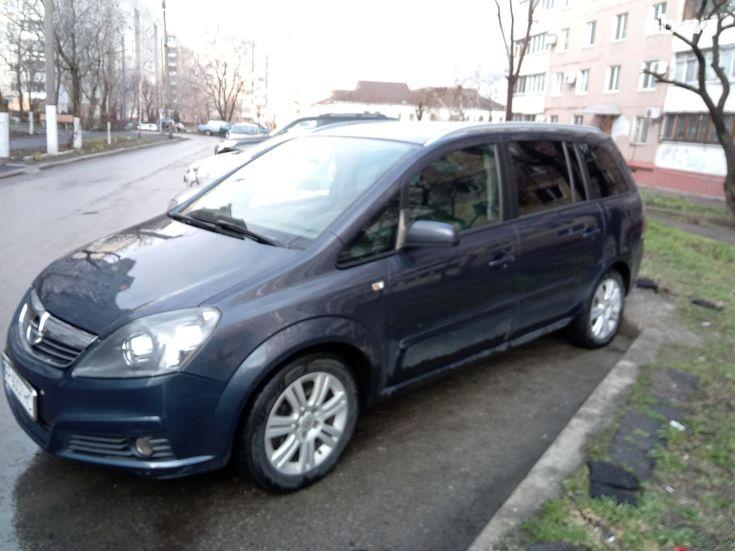 Opel Zafira 2007 серый - фото 3