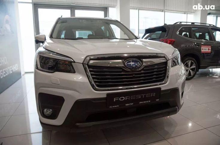 Subaru Forester 2021 белый - фото 9