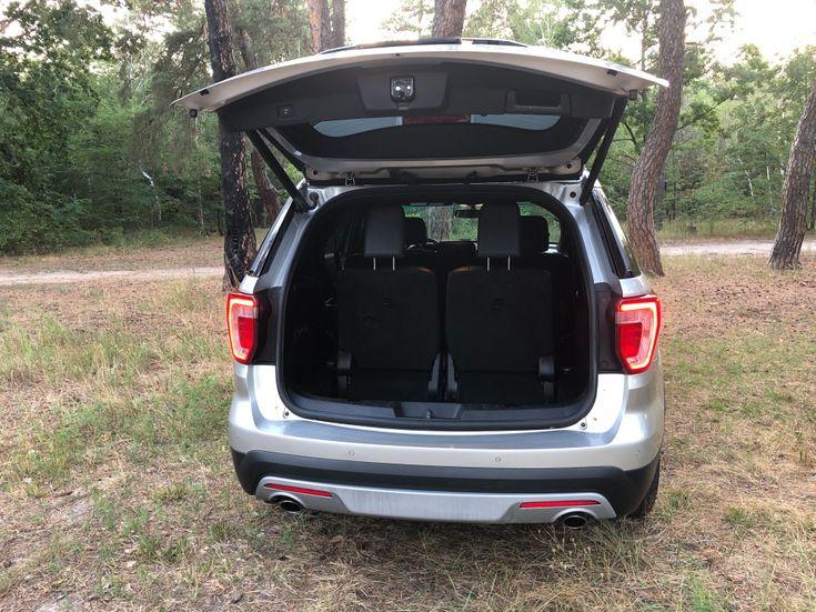 Ford Explorer 2016 серебристый - фото 18