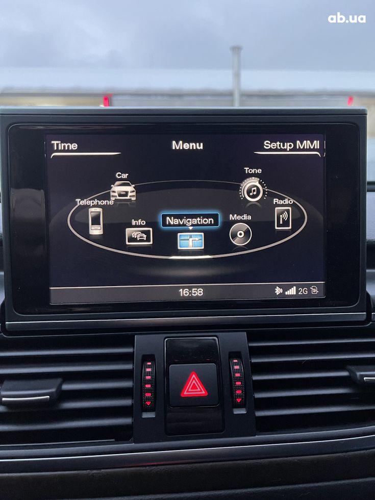 Audi A6 2013 черный - фото 14