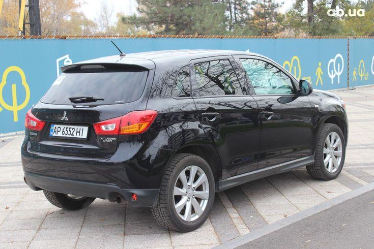 Mitsubishi ASX 2013 черный - фото 10