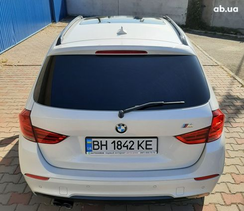 BMW X1 2013 белый - фото 4
