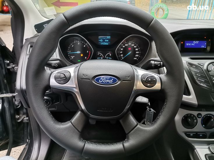 Ford Focus 2011 черный - фото 10