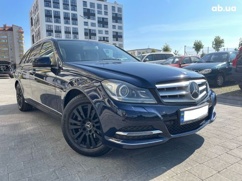 Mercedes-Benz C-Класс 2013 синий - фото 1