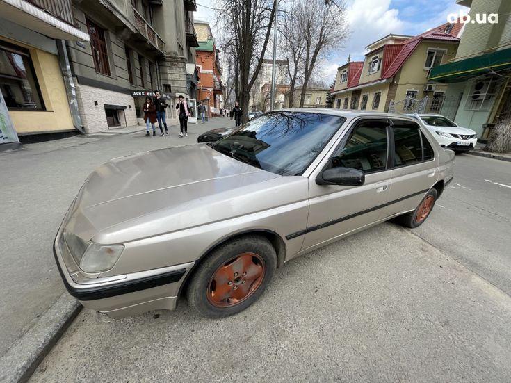 Peugeot 605 1993 бежевый - фото 2