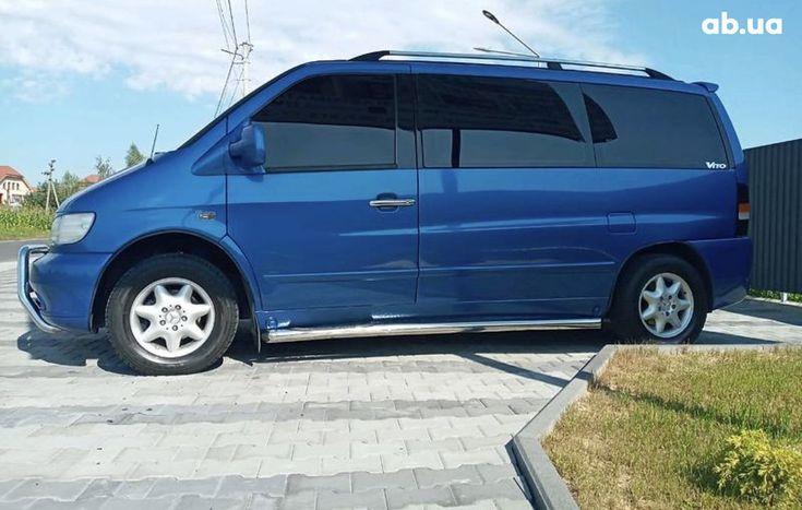 Mercedes-Benz Vito 2003 синий - фото 9