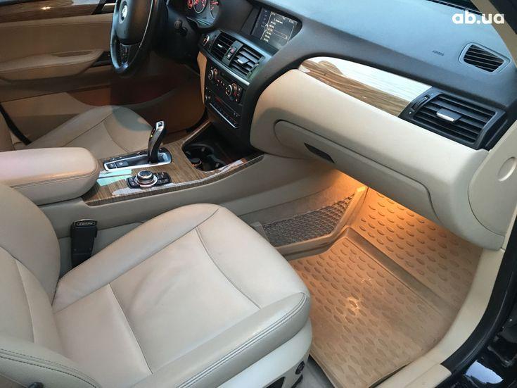 BMW X3 2013 черный - фото 14