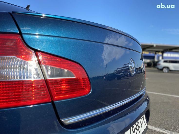 Skoda Superb 2012 синий - фото 7