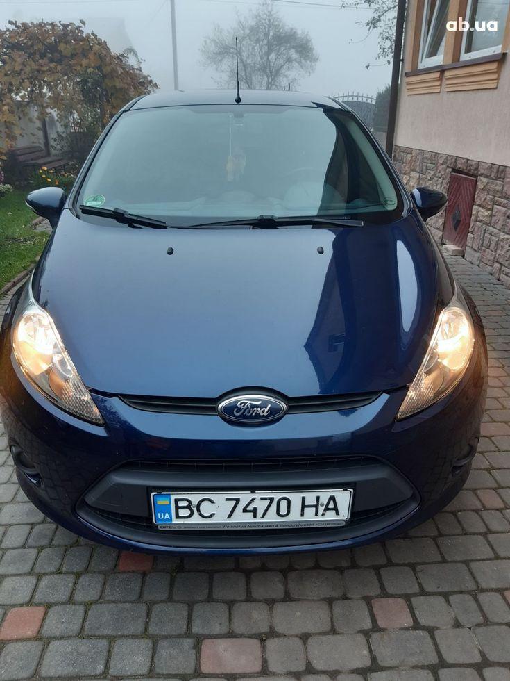 Ford Fiesta 2011 синий - фото 1
