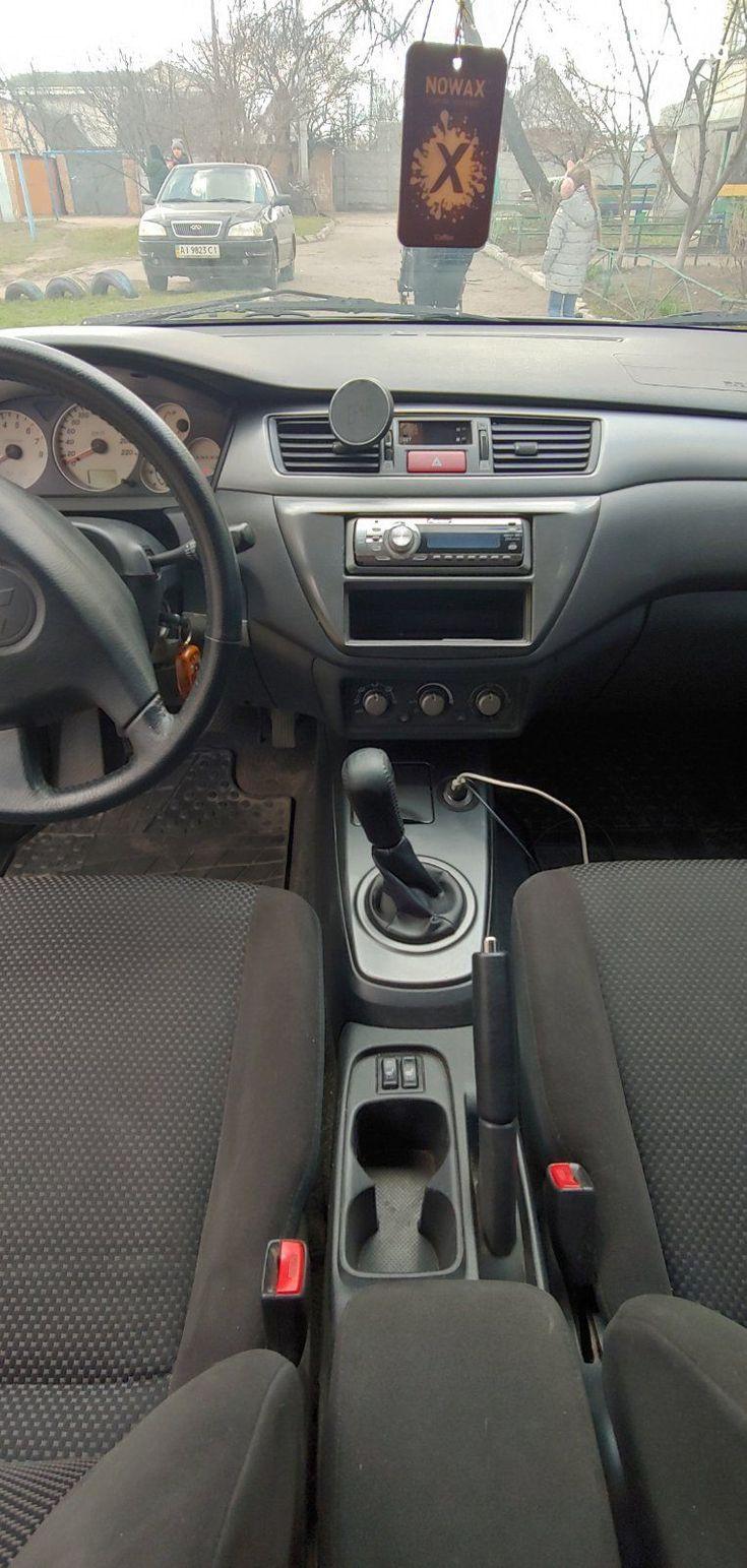 Mitsubishi Lancer 2005 серый - фото 20