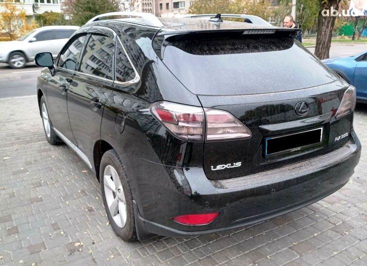 Lexus RX 2010 черный - фото 8