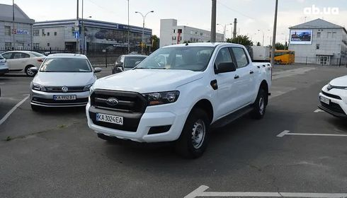 Ford Ranger 2017 белый - фото 17