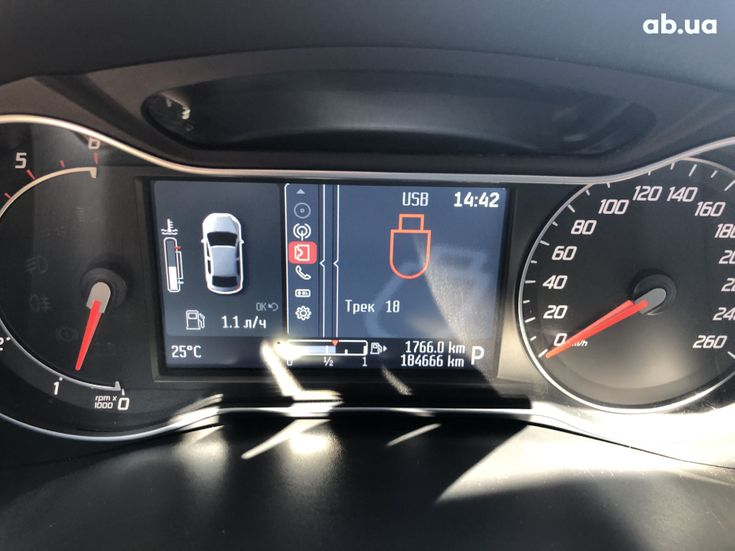 Ford Mondeo 2012 черный - фото 9