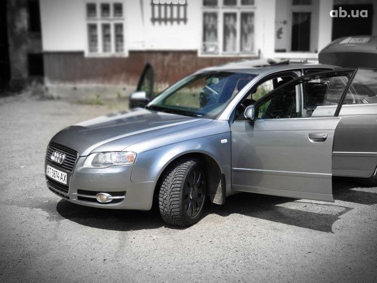 Audi A4 2007 серый - фото 2