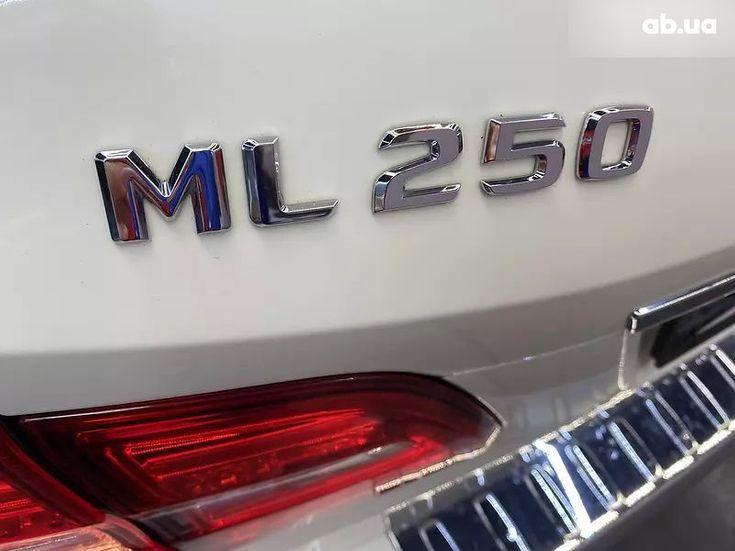 Mercedes-Benz M-Класс 2013 белый - фото 7