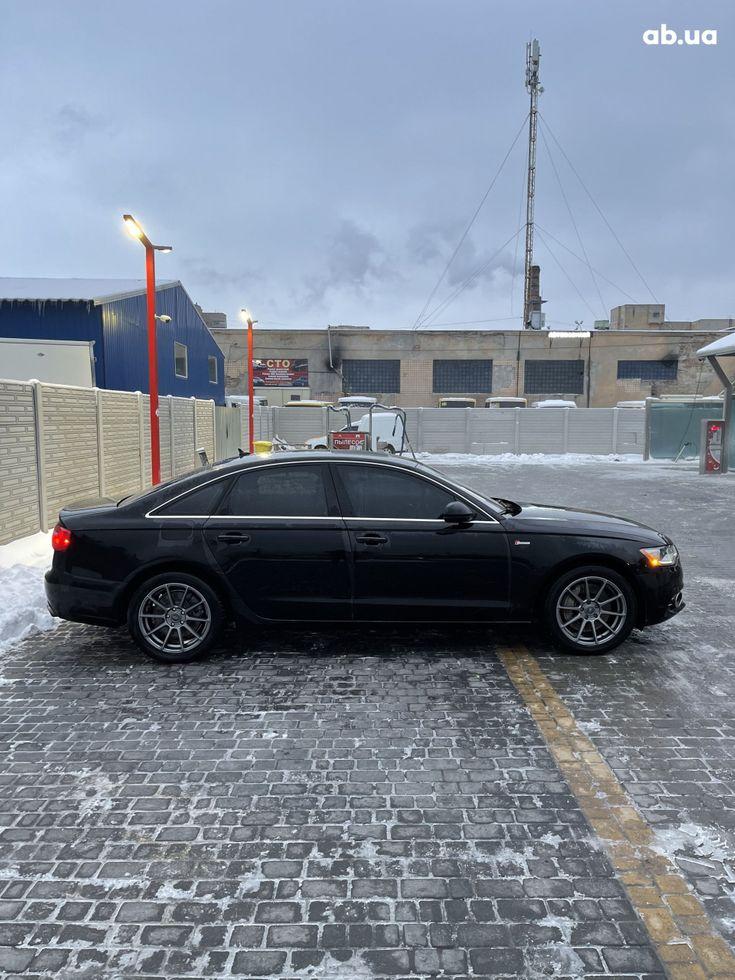 Audi A6 2013 черный - фото 4