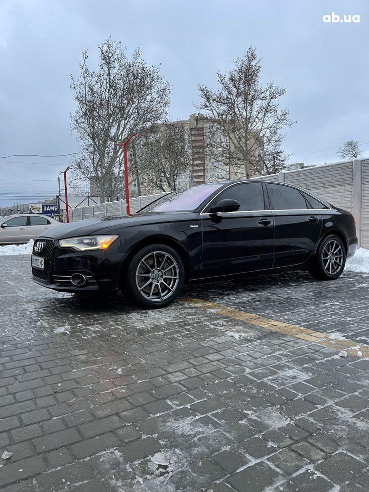 Audi A6 2013 черный - фото 5