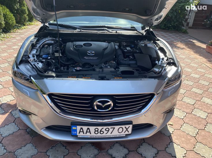 Mazda 6 2015 серебристый - фото 11