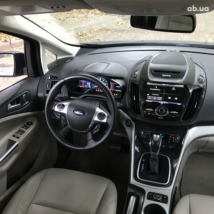 Ford C-Max 2015 серый - фото 9