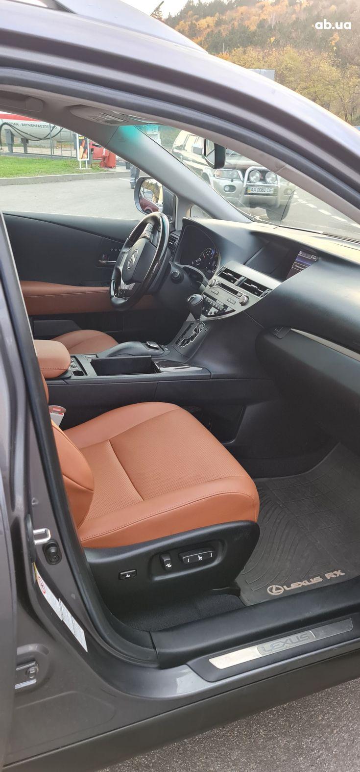 Lexus rx 350 2013 серый - фото 13