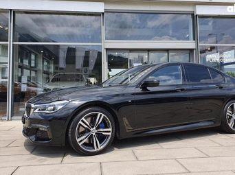 Продажа б/у BMW 7 серия 2019 года в Киеве - купить на Автобазаре