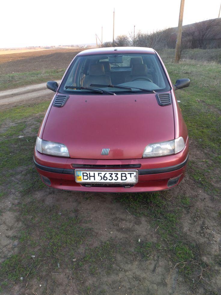 Fiat Punto 1998 красный - фото 6