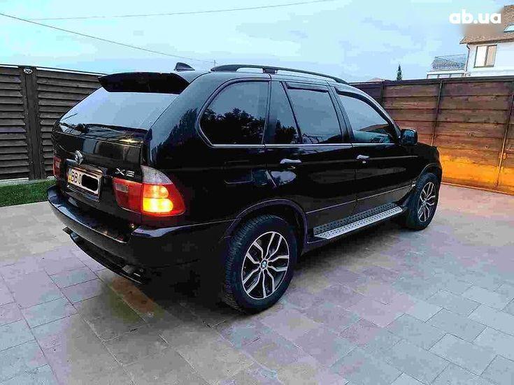 BMW X5 2005 черный - фото 5