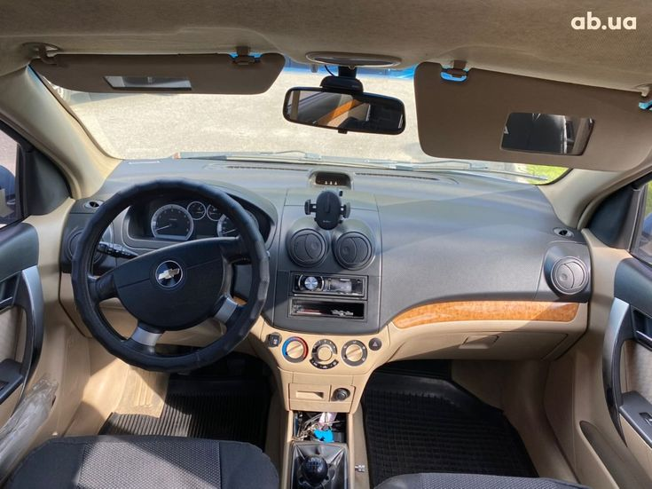 Chevrolet Aveo 2007 синий - фото 5