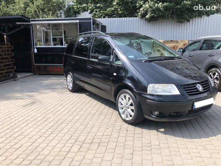Volkswagen Sharan 2000 черный - фото 1