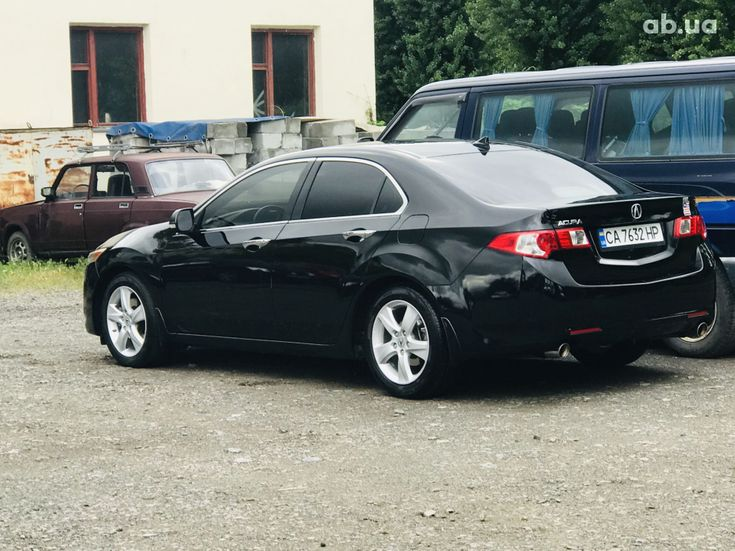 Acura TSX 2010 черный - фото 9