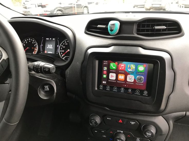 Jeep Renegade 2018 черный - фото 18