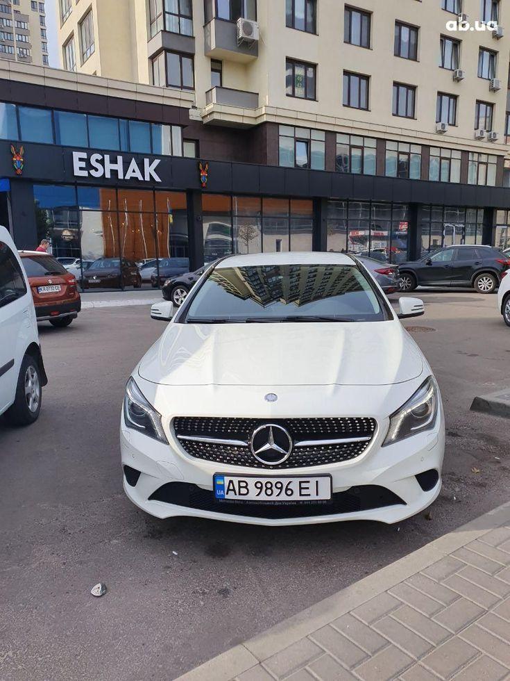 Mercedes-Benz CLA-Класс 2014 белый - фото 2
