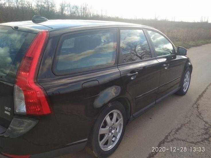 Volvo V50 2009 черный - фото 8