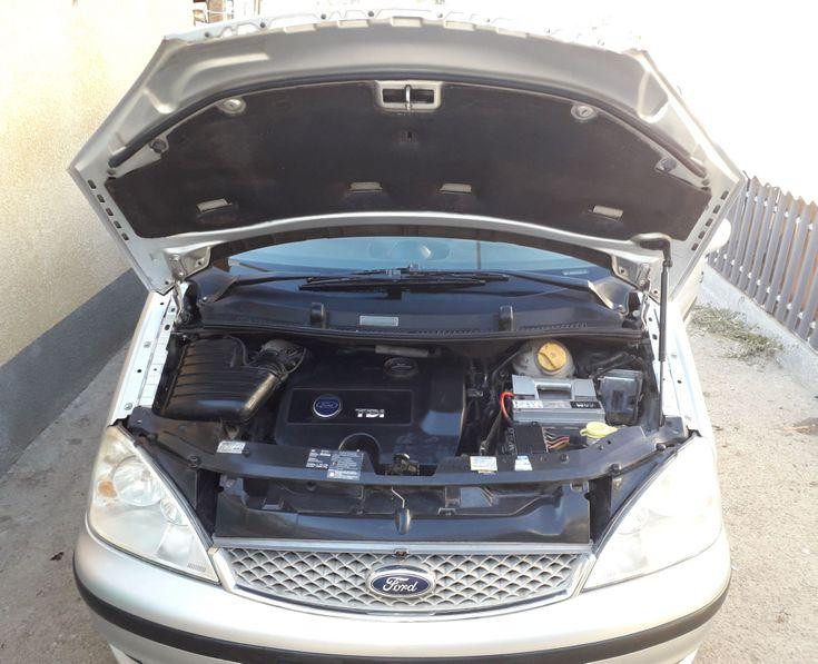 Ford Galaxy 2004 серебристый - фото 6