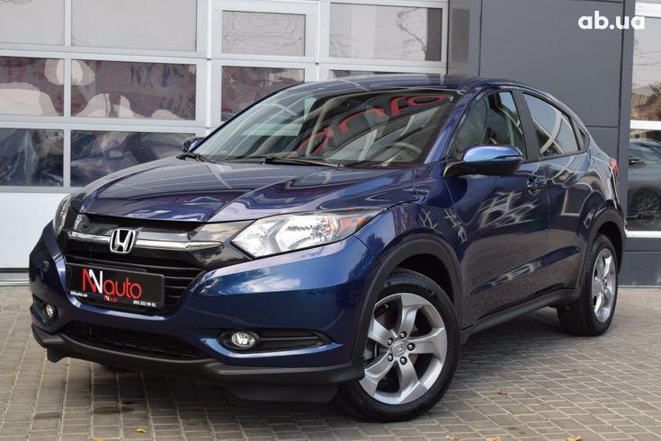 Honda HR-V 2018 синий - фото 1