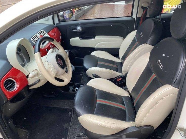 Fiat 500 2011 белый - фото 6