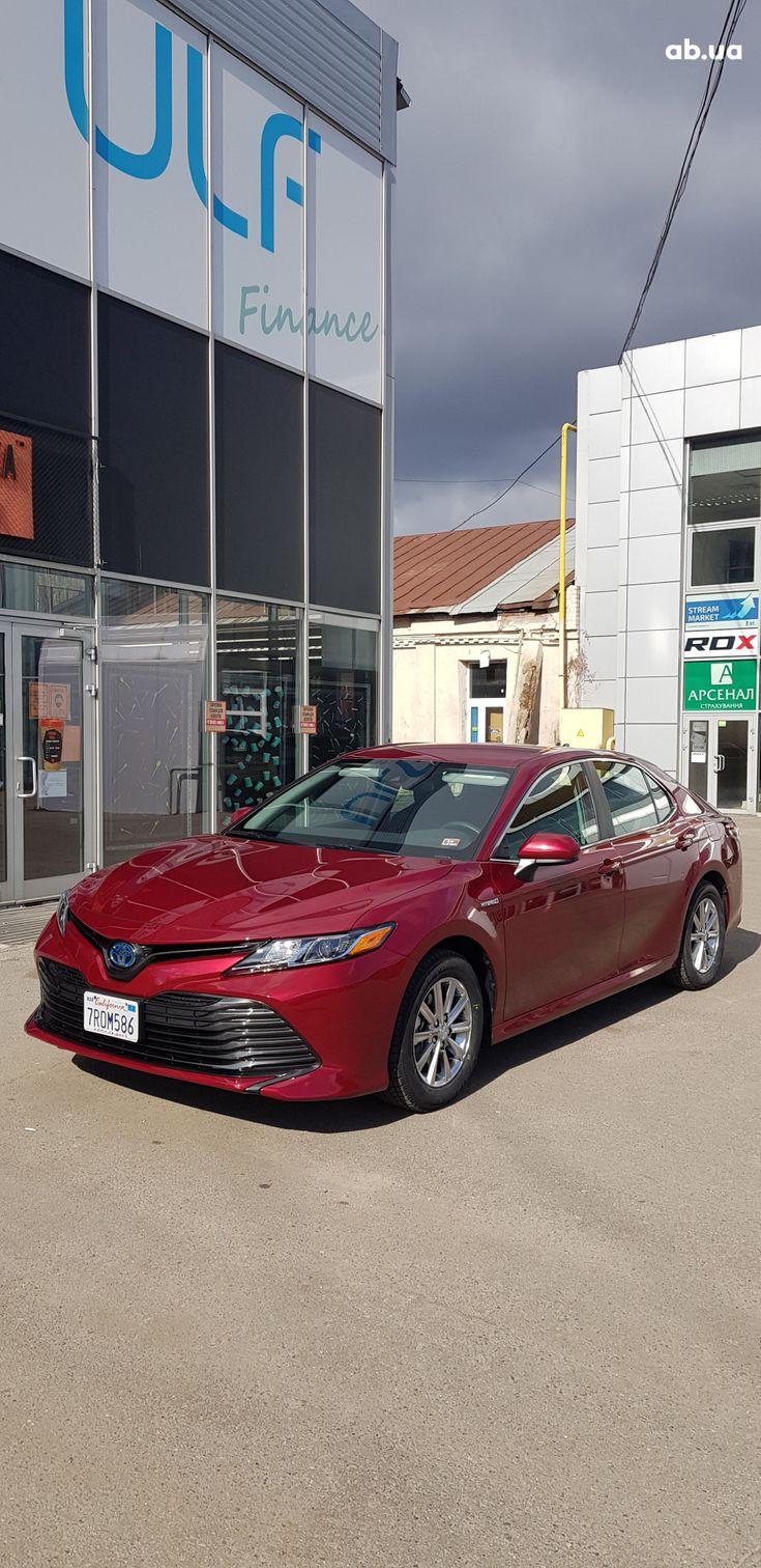 Toyota Camry 2020 красный - фото 13