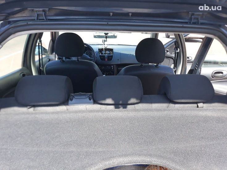Peugeot 206 2009 серый - фото 15