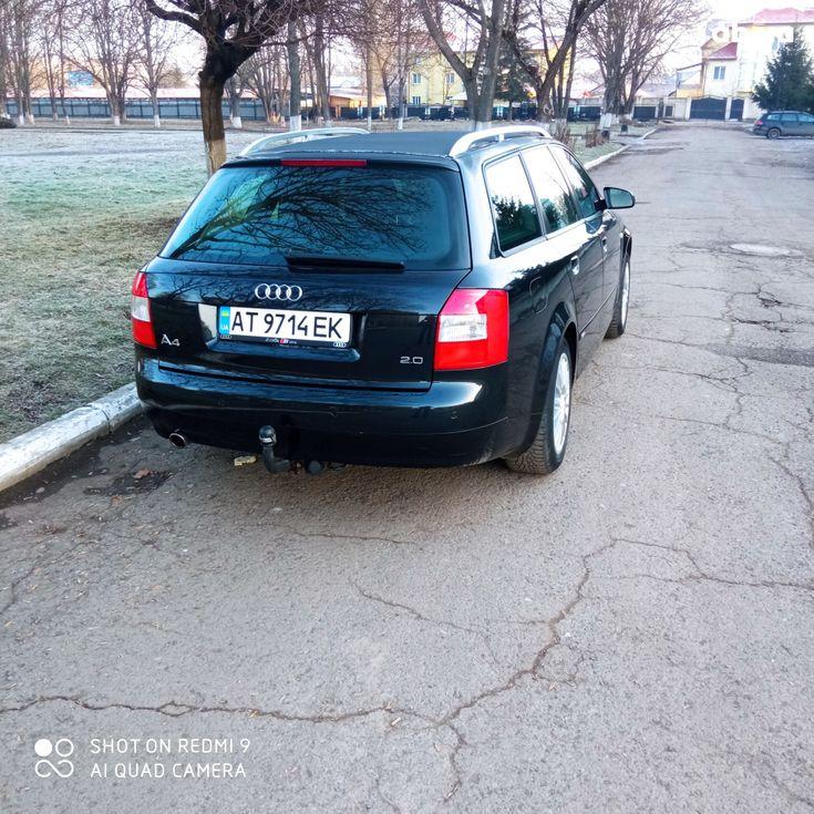 Audi A4 2004 черный - фото 10