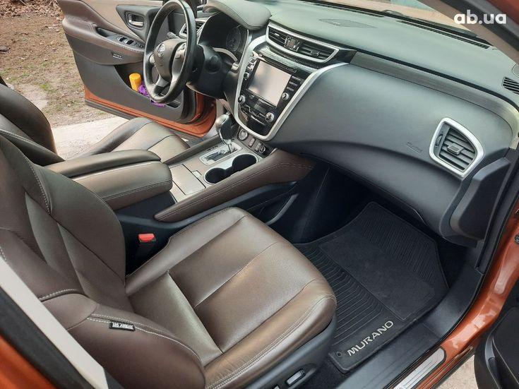 Nissan Murano 2015 оранжевый - фото 9