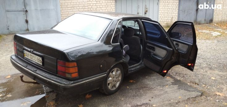 Ford Scorpio 1990 черный - фото 7